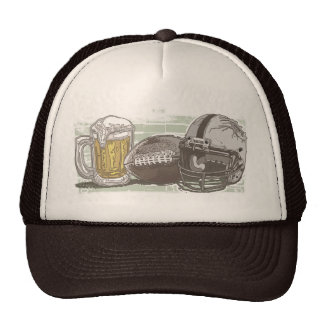 Le football et bière par des studios de Mudge Casquettes De Camionneur
