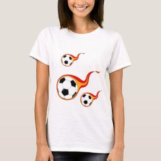 Le football flamboyant t-shirt