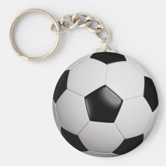 le football/football - porte - clé porte-clé rond