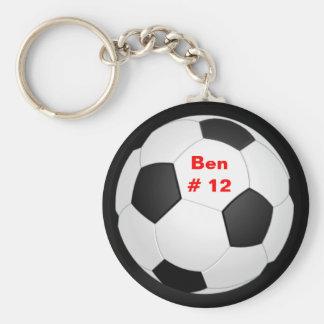 Le football Keychain Porte-clé