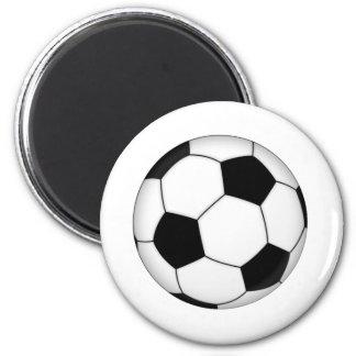 LE FOOTBALL MAGNET ROND 8 CM