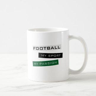 Le football mon sport ma passion tasse