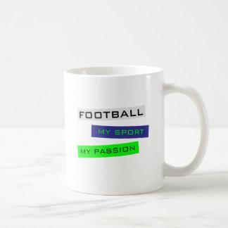 Le football mon sport ma passion mugs à café