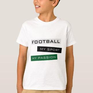 Le football mon sport ma passion tee shirt
