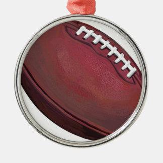 Le football décorations de noël