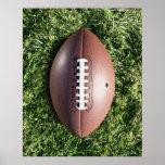 Le football sur l'herbe affiches