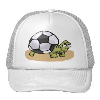 Le football (tortue) casquettes
