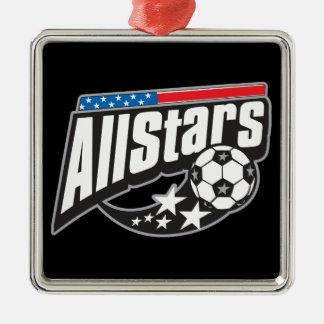 Le football toutes les étoiles ornements