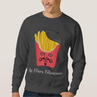 Le French Fries from France Sweatshirt
