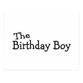 Le garçon d'anniversaire cartes postales
