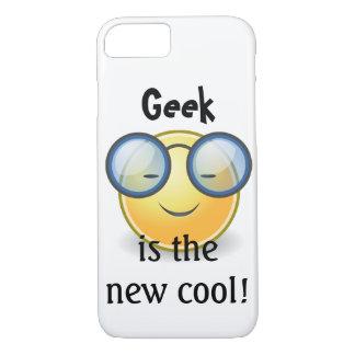 Le geek est le nouveau cas frais du smiley iPhone7 Coque iPhone 7