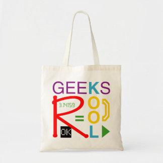 Le geeks est frais sac en toile budget