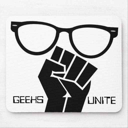 Le geeks unit ! Mousepad Tapis De Souris