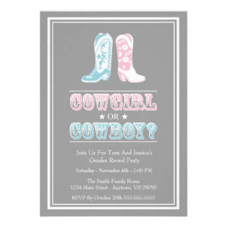 Le genre de bottes de cowboy indiquent des invitat invitations