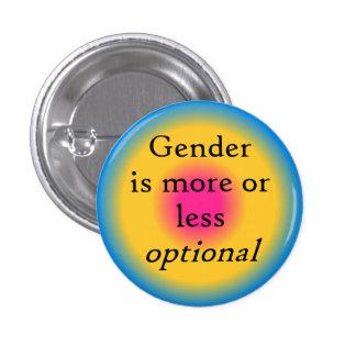 Le genre est bouton facultatif badges