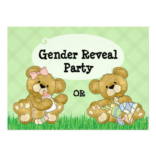 Le genre mignon d ours indiquent la partie invitation personnalisable