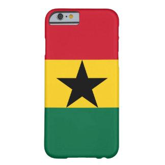 Le Ghana - drapeau ghanéen Coque Barely There iPhone 6