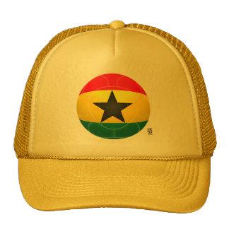 Le Ghana - le noir tient le premier rôle le footba Casquette Trucker