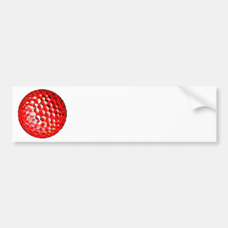 Le golf ball1 de jGibney de série d'artiste de MUS Autocollant De Voiture