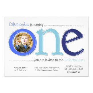 Le grand avec la carte d anniversaire de coupe-cir invitations personnalisées
