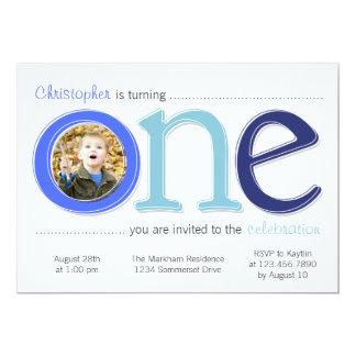 Le grand avec la carte d'anniversaire de invitations personnalisées