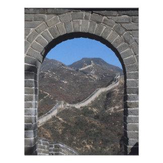 Le grand mur chinois faire-parts