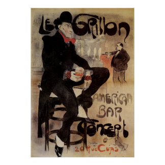 Le Grillon - French Art Poster