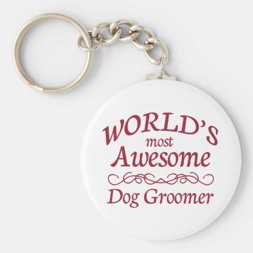Le Groomer du chien le plus impressionnant du mond Porte-clef