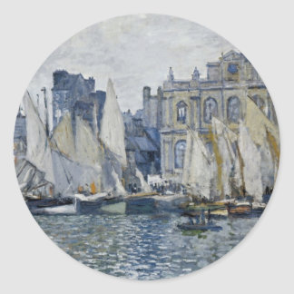 Le Havre Museum Classic Round Sticker
