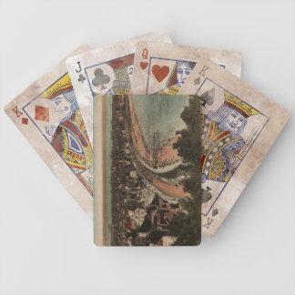 Le Havre Panorama France Postcard 1920s Poker Deck