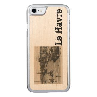 Le Havre - Quai Lamblardie sailing ships in dock Carved iPhone 8/7 Case
