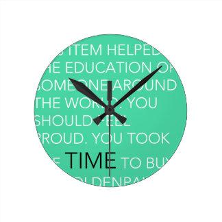 Le horodateur horloges murales