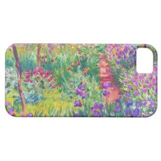 Le jardin d'iris au cool de Giverny Claude Monet,  Coques iPhone 5 Case-Mate