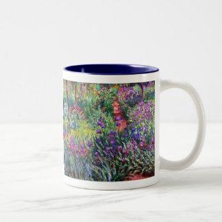 Le jardin d'iris chez Giverny, Claude Monet Tasse À Café