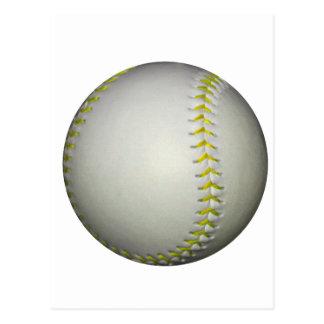 Le jaune pique le base-ball/base-ball cartes postales