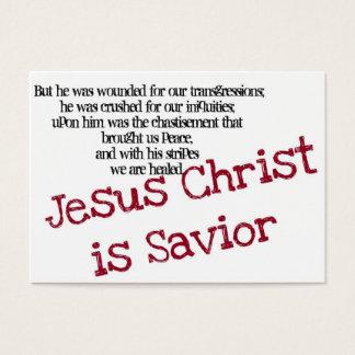 Le Jésus-Christ est sauveur (la région) Cartes De Visite