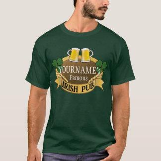 Le jour de bière nommée de St Patrick irlandais T-shirt
