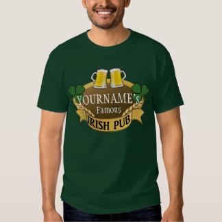 Le jour de bière nommée de St Patrick irlandais Tee Shirt