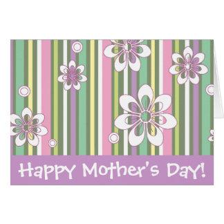 Le jour de mère heureux ! carte de vœux
