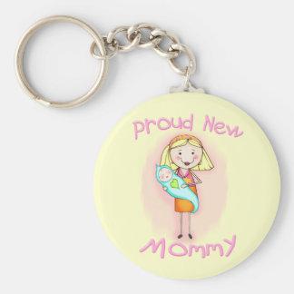 Le jour de mère/nouvelle maman porte-clef