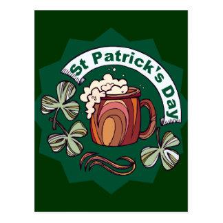 Le jour de St Patrick Cartes Postales