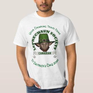 Le jour de St Patrick fait sur commande de lutin Tee Shirt