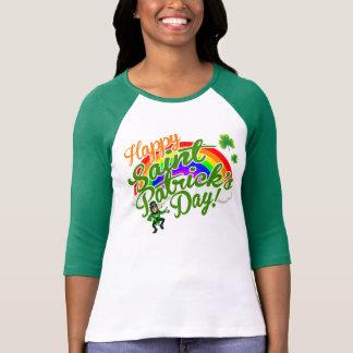 Le jour de St Patrick heureux Tee Shirt