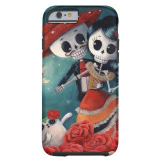 Le jour des amants squelettiques morts coque iPhone 6 tough
