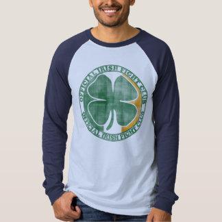 Le jour d'Irlandais de combat de St Patrick Tee-shirts