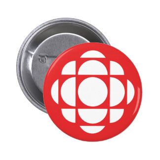 Le Joyau de CBC/Radio-Canada Macaron Rond 5 Cm