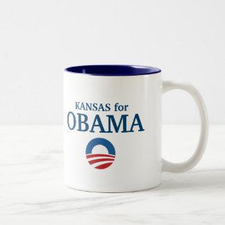 Le KANSAS pour la coutume d'Obama votre ville pers Tasses