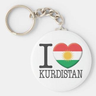 Le Kurdistan Porte-clé Rond
