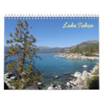 Le lac Tahoe 2016 Calendrier Mural