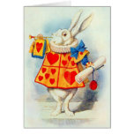 Le lapin en Alice dans la carte de ~ du pays des m